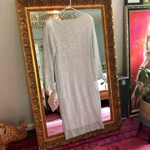 ASOS Sequin Midi Dress